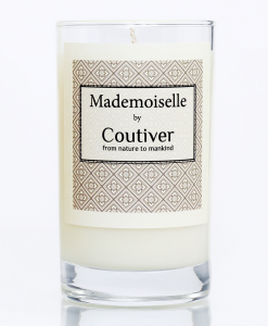 organic candle mademoiselle coutiver single 800x941