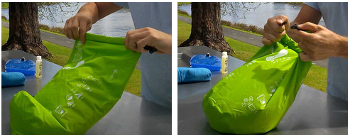 scrubba roll and clip step